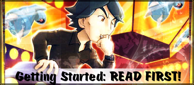 Getting started banner
